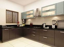 Commercial Wooden Modular Kitchen, Warranty: 5-10 Years