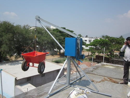 Construction Lift - Material Handling Lift Manufacturer from Coimbatore