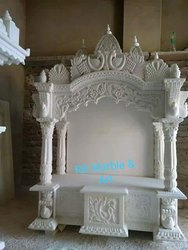 White Marble Pooja Mandir