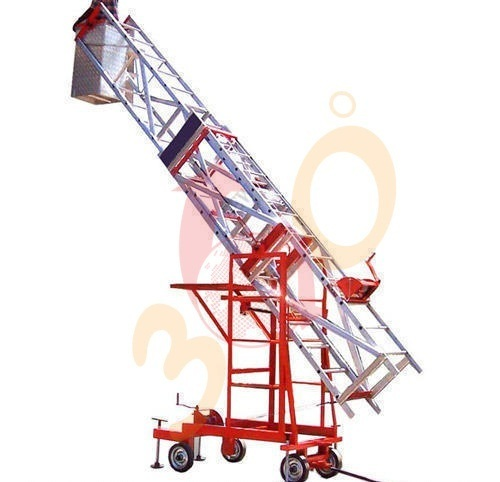 Tiltable Mobile Tower Extension Ladder Aluminum Tiltable