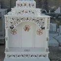 Handmade Printed Marble Temple