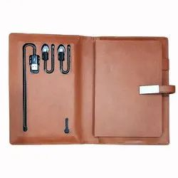 Planer Diary With Power Bank