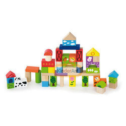 50pcs Block Set Farm