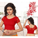 Women And Girl Lycra Blouse