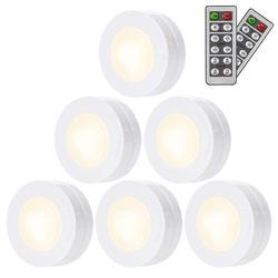 Cool White Wireless LED Puck Light