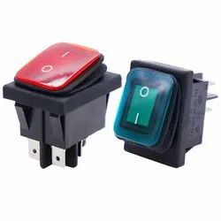 Waterproof Rocker Switch with IP65 protection