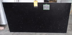 Star Galaxy Black Quartz Stone Slab
