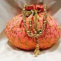 Decorative Lotus Potli Bag
