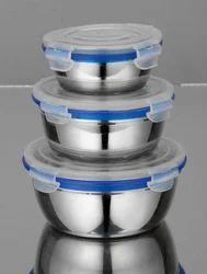Lock Lid Bowl Set