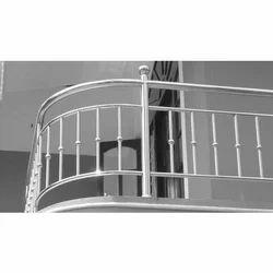 Stainless Steel Balcony Railing in Hyderabad, Telangana ...