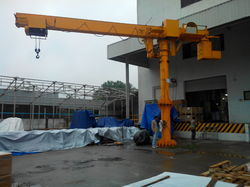 Hi Tech Single Girder Box Type Jib Crane