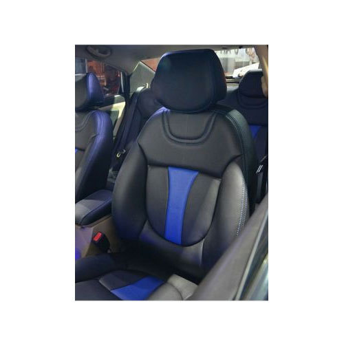 Black Blue Comfortable Car Seat Cover