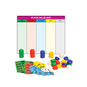 Place Value Mat with Stacking Counters