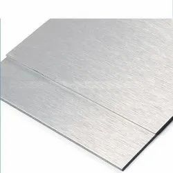 Brush Silver Aluminium Composite Panel Sheet