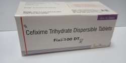 Cefixime & Dispersible Tablets