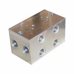 Hydrotech Engineers Hydraulic Manifold Block, Usage: Industrial