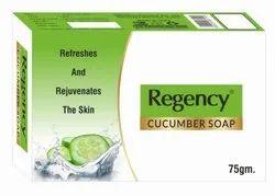 Regency Cucumber Soap, For Bathing, 75 Gm