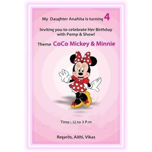 Birthday Card Designing Service In Sector 10 Noida A V N Graphics