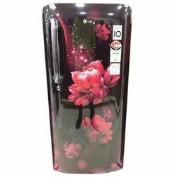 4 Star LG GL-B201ASCY 190L Single Door Refrigerator