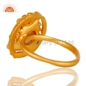 Designer Gold Plated Fashion Pearl Ring Jewelry