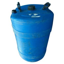 Blue Chemicals Plastic Chemical Storage Barrel, Capacity: 250-300 litres