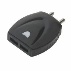Black & White 2.4 A Travel Charger