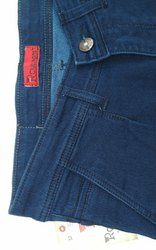 Lycra Men Knitted Denim Jeans