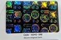 Transparent Custom Hologram Overlay
