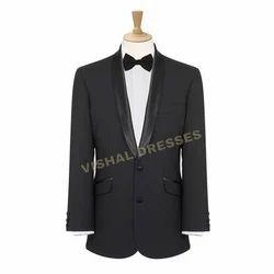 Mens Party Wear Black Blazer, Size: 30 to 44