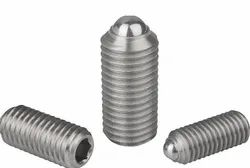 Spring Plungers are used for indexing and positioning of various components.