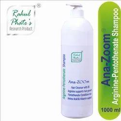Rahul Phate's 1000 ml Ana-Zoom Hair Cleanser Arginine-Pentothenate Shampoo, For Personal, Packaging Type: Bottle