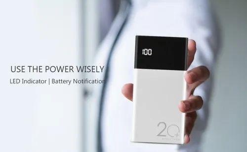 Black & White Portable Power Bank