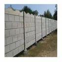 Cement Block Garden Wall