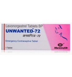 72 mg Unwanted Tablets BP