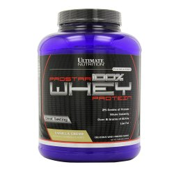 Ultimate Nutrition ProStar 5.2 Lbs Whey Vanilla Flavored Whey Protein, Packaging Type: Plastic Container