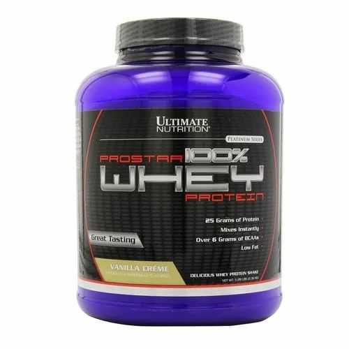 67b0fa741 Ultimate Nutrition ProStar 5.2 Lbs Whey Vanilla Flavored Whey Protein