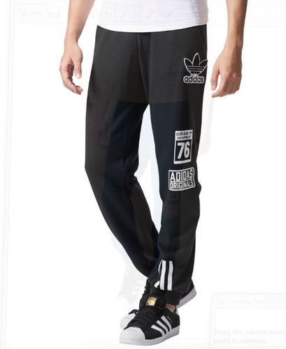 87f24430 Mens Adidas Originals Logo Track Pants