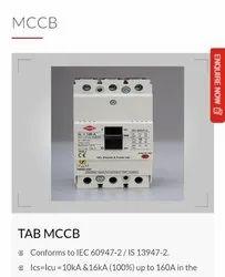 Circuit Breaker industrial materials MCCB HPL Make, 3, Model Name/Number: TAB160DX100AC3P