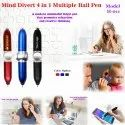 Mind Divert 4 in 1 Multiple Ball Pen