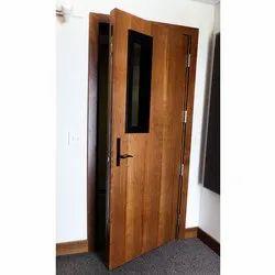 Brown Swing Acoustic Doors