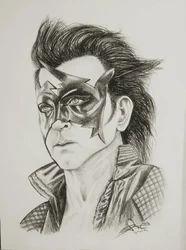Pencil Sketch Size A3 Rs 500 Piece Amrit Artist Id 16956409791