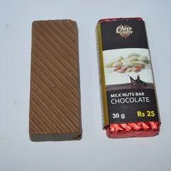 Choco Fantasy Home Made Nuts Milk Chocolate Bar