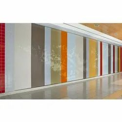 Designer Back Painted Colored Glass, Thickness: 3.5-12 mm