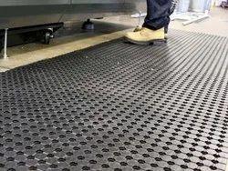 6 Ft Wide X 33 Ft Long - Broadway Mini Holes Industrial Matting
