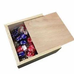 Wooden Chocolate Storage Box