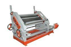 Fingerless Paper Corrugating Machines Oblique Type