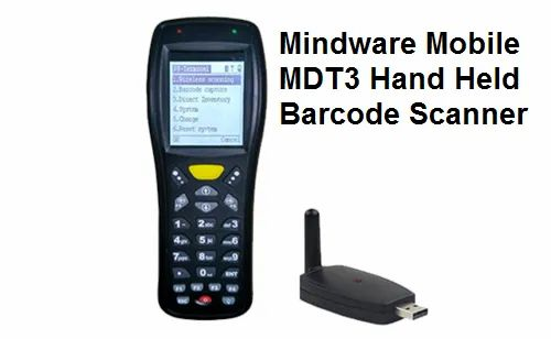 Barcode Scanners - Mindware HGS-2020 Bluetooth Barcode Scanner 1D