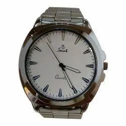 Saint Mens Formal Stainless Steel Wrist Watch