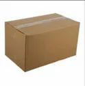 Brown Plain Corrugated Box