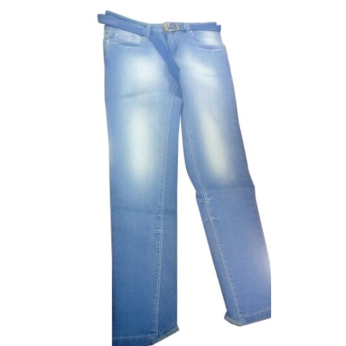 Ladies Plain Zipper Fancy Denim Jeans